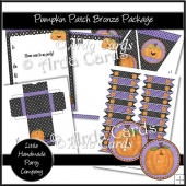 Pumpkin Patch Bronze Party Set