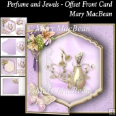 Perfume and Jewels - Offset Front Card