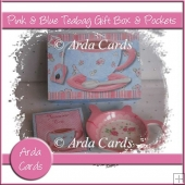 Pink & Blue Gift Box & Teabag Pockets