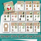 One Page Christmas Bumper Card Kit