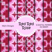 Red Red Rose Paper Pack CU4CU