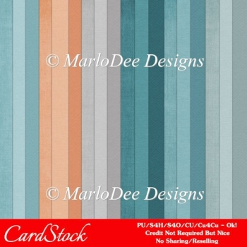 Modern Hues Pkg1 Digital Cardstock Scrapbooking Papers