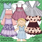 Dress-up Dolls Posh Frocks