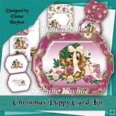 Christmas Puppy Card Kit