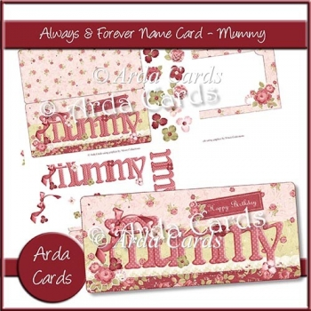 Always & Forever Name Card - Mummy