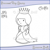 Princess Digi Stamp
