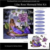 Lilac Rose Mermaid Mini Kit