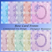 Bow Card Fronts