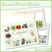 Seasonal Flowers Calendar