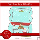 Flight School Large Pillow Box