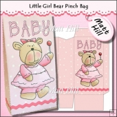 Little Girl Bear Pinch Bag