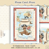 Pirate A5 Card Front