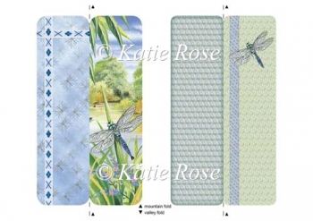"Water's Edge ""Dragonfly Days"" Bookmark Sheet"