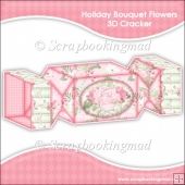 Holiday Bouquet Flowers 3D Cracker Gift Box