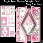 Tea for Two - Diamond Gatefold Card