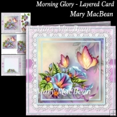 Morning Glory - Layered Card