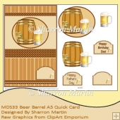 MDS33 Beer Barrell A5 Quick Card