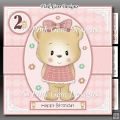 Birthday Bear 2 Mini Kit With Ages 1 to 6 Yrs