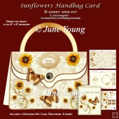 Sunflowers Handbag Card