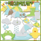 Rainy Days Commercial Use Clip Art