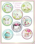 Cottage Chic Circle Charms