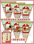 Sewing Room Banner Kit