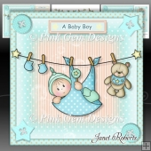 Baby Boy Washing Line Mini Kit