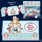 Just Chillin Penguins Card Kit