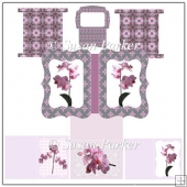 Orchid Notelet Set
