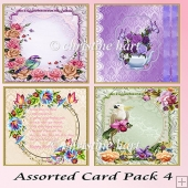 Assorted Card Pack 4