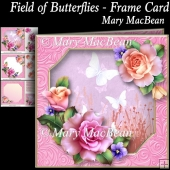 Field of Butterflies - Frame Card