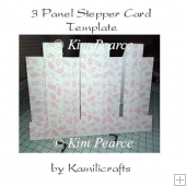 3 Panel Stepper Card Template