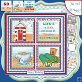 A CUP OF TEA SOLVES EVERYTHING 7.5 Quick Card Verse or Ages Kit