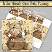 Lil Bear Alternate Square Twisted Pyramage