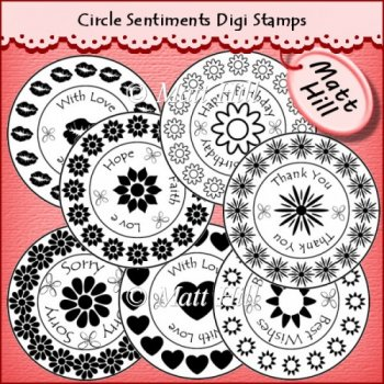 ... Sentiments Digi Stamps CU OK - £1.50 : Instant Card Making Downloads