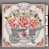 Peach Rose Barrow Mini Kit