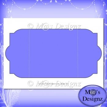 Square Gatefold Template 4