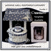 Wishing Well Keepsake/Luminary No 2