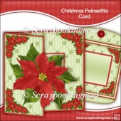 Christmas Poinsettia Card Kit
