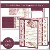 Grandmother's Love Asymmetric Card