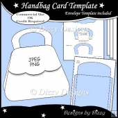 Handbag Card Template