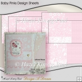 Baby Pinks Design Sheets
