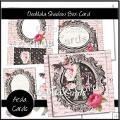 Ooohlala Shadow Box Card