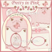 Pretty in Pink - Scalloped Top Envy Card