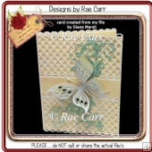 045 Delicate Lattice Card *MACHINE Cut File/s*