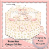 Tickled Pink Octogon Gift Box