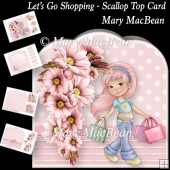 Lets Go Shopping - Scallop Top Card