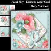 Pastel Posy - Diamond Layer Card