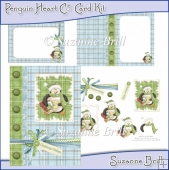 Penguin Heart C5 Card Kit