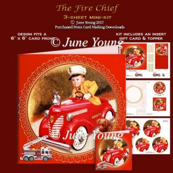 The Fire Chief - 3-Sheet Mini-Kit